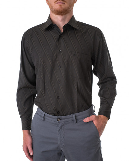 Рубашка мужская 195-165-black night/55
