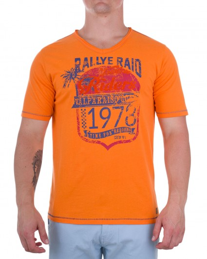 Mens t-shirt 181184-841/8-оранж