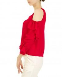 Блуза женская 00004141/8-красн. (2)