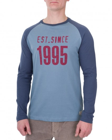 Лонгслив мужской 128084-blue/6-7