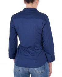 Блуза женская 1820620-синий/8 (3)