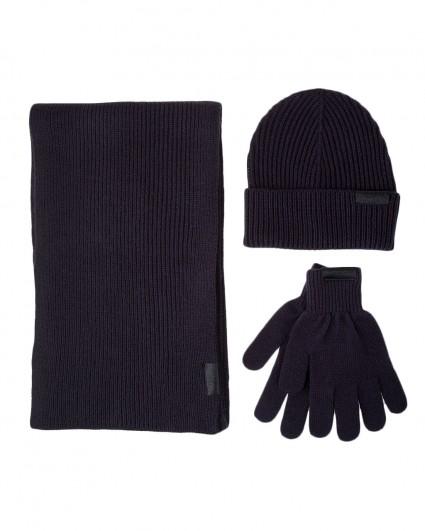 Комплект (шапка / шарф / перчатки) мужской 57Y00001-9Y099998-U290/19-20-2