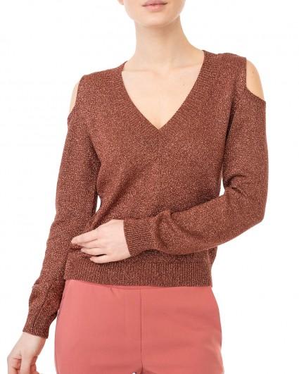 The pullover is female MP8LE130028XX90-коричневий/20