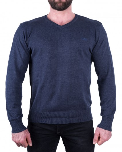 Пуловер мужской 140889/8-91-синий