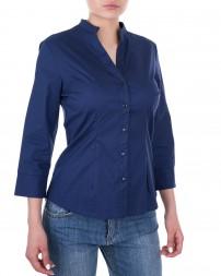 Блуза женская 1820620-синий/8 (1)