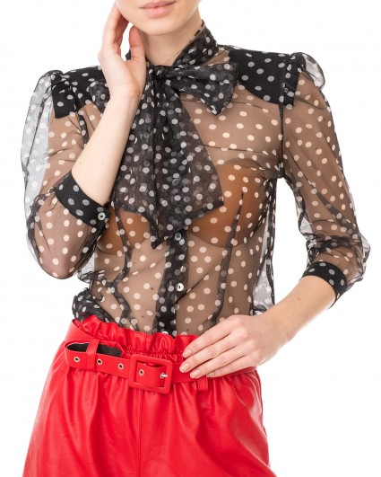 The blouse is female C975FF08-чорний/20