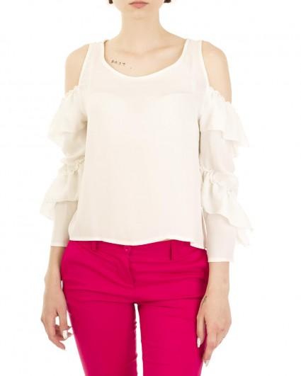 Блуза женская 00004141/8-бел.