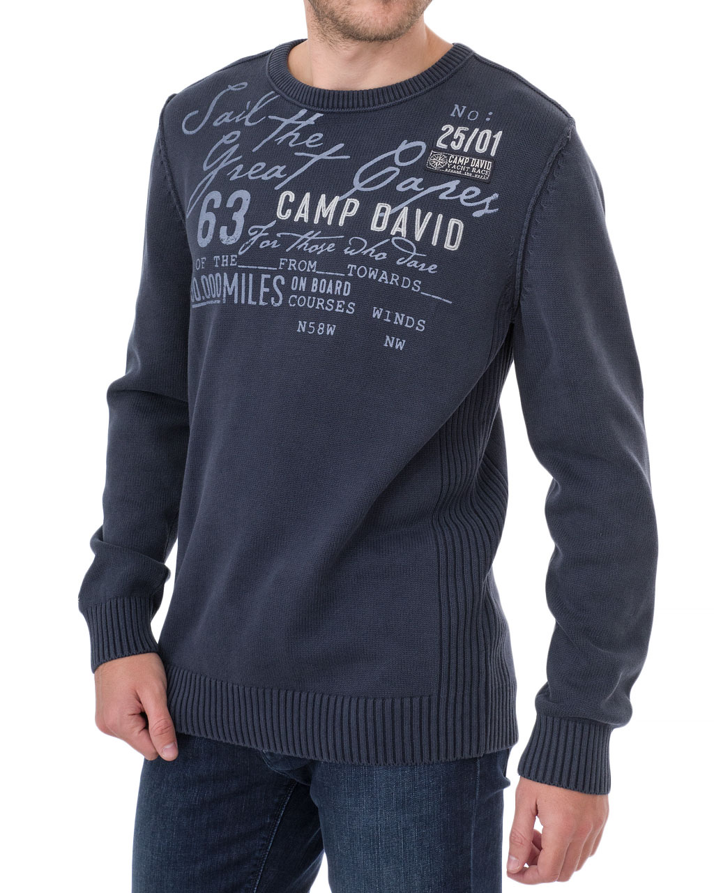 Men's jumper 1809-4770/8-92-синий (3)