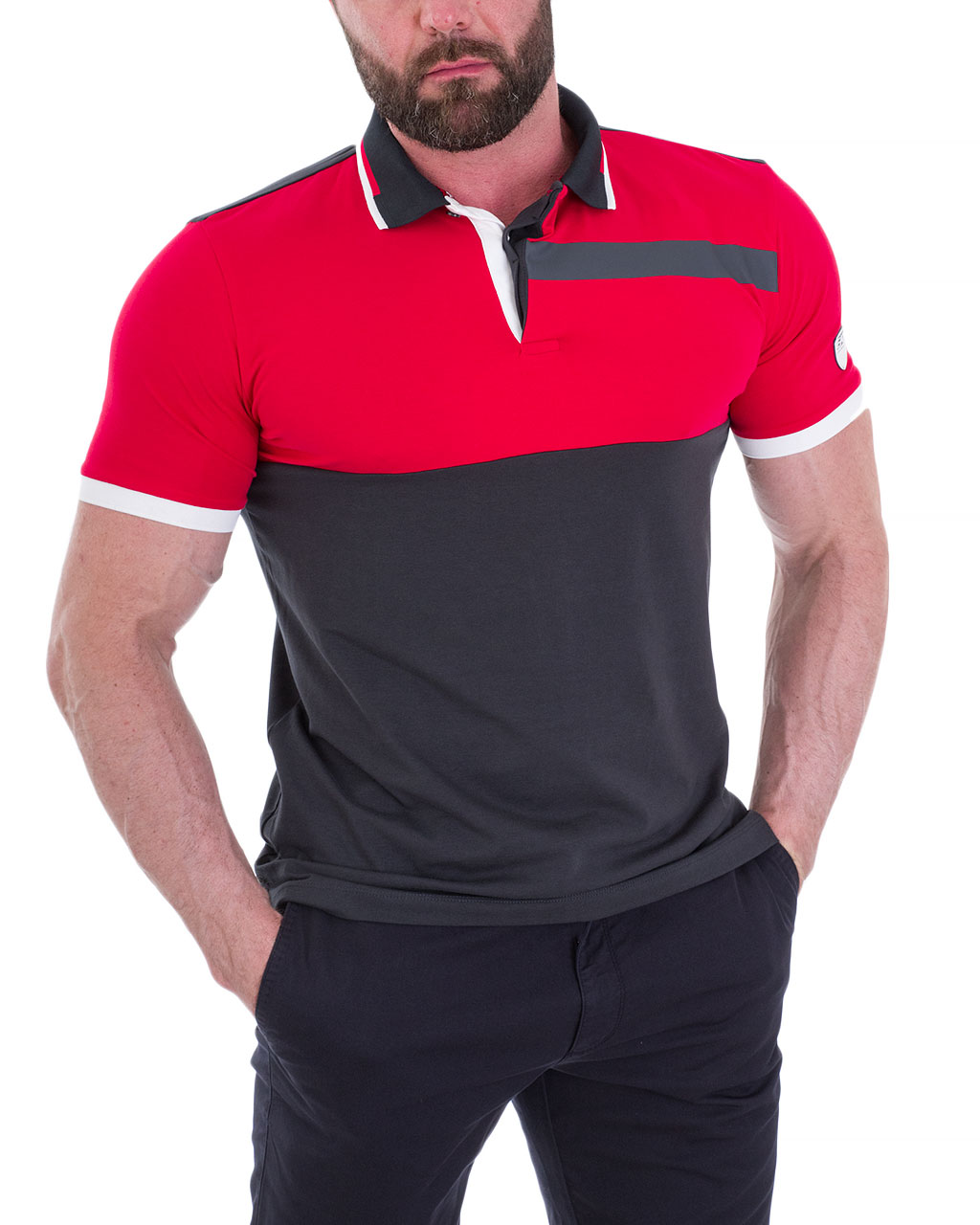 Men's polo 3GPF80-PJ20Z-1578/92-1 (5)
