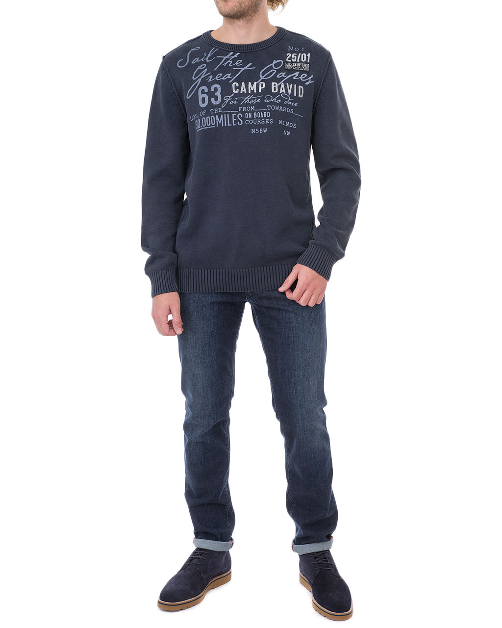 Men's jumper 1809-4770/8-92-синий (2)