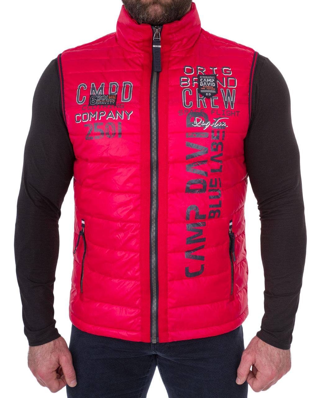 The Vest Is Man S Camp David Original 1955 2035 Chervonij 19 20