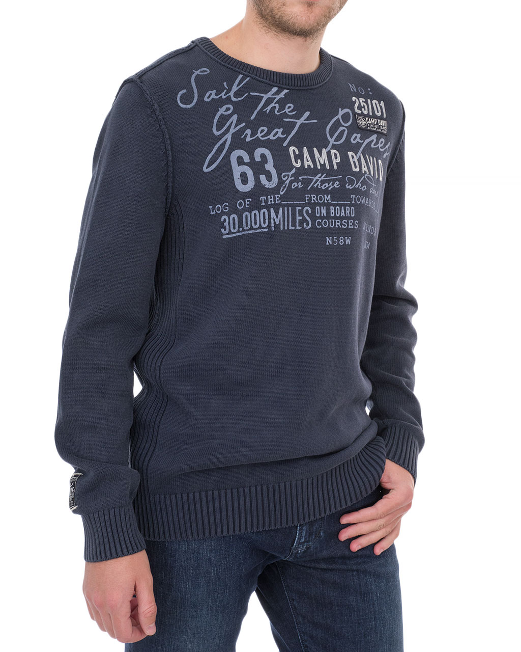 Men's jumper 1809-4770/8-92-синий (4)
