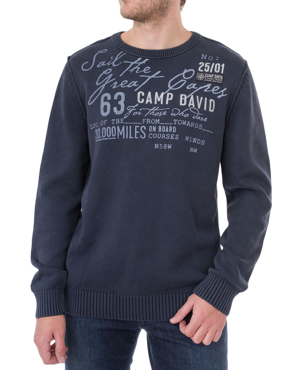 Men's jumper 1809-4770/8-92-синий (1)